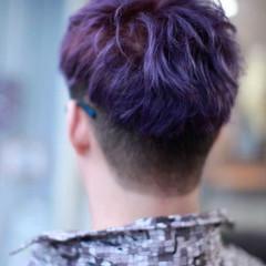 ショート ストリート ダブルカラー ショートヘア ヘアスタイルや髪型の写真・画像