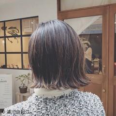 外ハネ ハイライト モード 大人かわいい ヘアスタイルや髪型の写真・画像