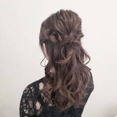 簡単ヘアアレンジ デート 成人式 結婚式 ヘアスタイルや髪型の写真・画像