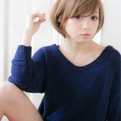 ガーリー 大人かわいい モテ髪 ショート ヘアスタイルや髪型の写真・画像