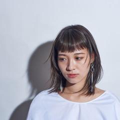 ミディアム ナチュラル デート 秋 ヘアスタイルや髪型の写真・画像