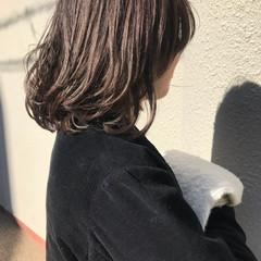 ミルクティーブラウン ナチュラル ブラウン ミルクティーベージュ ヘアスタイルや髪型の写真・画像