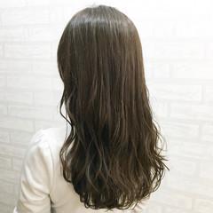 外国人風カラー エレガント アッシュ アッシュグレージュ ヘアスタイルや髪型の写真・画像