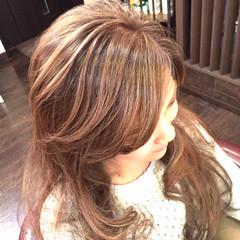 外国人風 ロング 大人かわいい グラデーションカラー ヘアスタイルや髪型の写真・画像