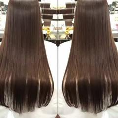 最新トリートメント トリートメント エレガント 髪質改善 ヘアスタイルや髪型の写真・画像