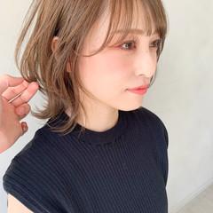 こなれ感 フェミニン レイヤーカット 前髪あり ヘアスタイルや髪型の写真・画像