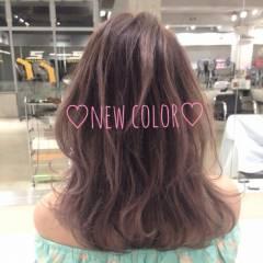 グラデーションカラー 外国人風 ローライト ブラウンベージュ ヘアスタイルや髪型の写真・画像