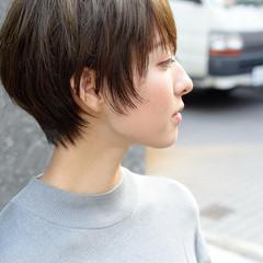 ショート ショートヘア ショートボブ ベリーショート ヘアスタイルや髪型の写真・画像