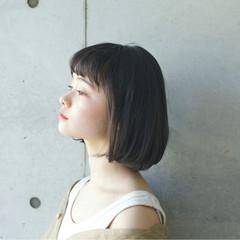 リラックス パーマ 似合わせ 小顔 ヘアスタイルや髪型の写真・画像