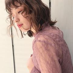 フェミニン 大人かわいい パーマ 外国人風 ヘアスタイルや髪型の写真・画像