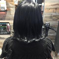 グレー 暗髪 ストリート ブルージュ ヘアスタイルや髪型の写真・画像