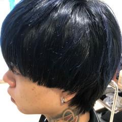 メンズカット モード ヘアカラー ダブルカラー ヘアスタイルや髪型の写真・画像