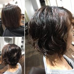 無造作パーマ フェミニン  ゆるふわパーマ ヘアスタイルや髪型の写真・画像