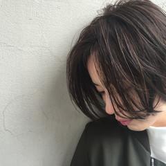 ストリート アッシュ 外国人風 ストレート ヘアスタイルや髪型の写真・画像