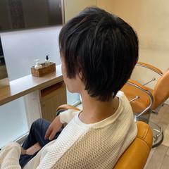 メンズショート メンズ ショート ショートレイヤー ヘアスタイルや髪型の写真・画像