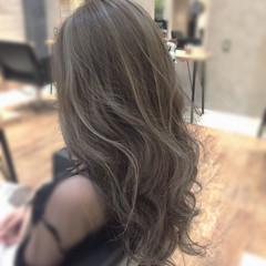 大人女子 かっこいい ロング エレガント ヘアスタイルや髪型の写真・画像