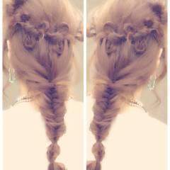 ショート 簡単ヘアアレンジ ヘアスタイルや髪型の写真・画像