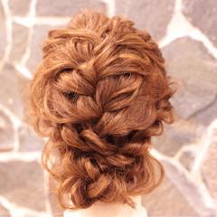 フォーマル フェミニン ヘアアレンジ 結婚式 ヘアスタイルや髪型の写真・画像