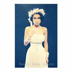 ブライダル 結婚式 ボブ ヘアアレンジ ヘアスタイルや髪型の写真・画像