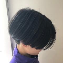 ハンサムショート ダブルカラー ヘアカラー ショートヘア ヘアスタイルや髪型の写真・画像