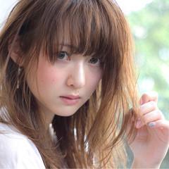 ナチュラル ストレート 艶髪 透明感 ヘアスタイルや髪型の写真・画像