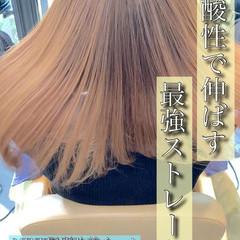 ナチュラル 髪質改善 縮毛矯正 ロング ヘアスタイルや髪型の写真・画像