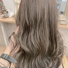 透明感カラー ブリーチなし 大人可愛い デート ヘアスタイルや髪型の写真・画像
