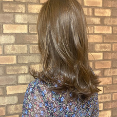 艶髪 N.オイル ミディアム イルミナカラー ヘアスタイルや髪型の写真・画像