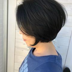 似合わせ 女子力 ショート マッシュ ヘアスタイルや髪型の写真・画像