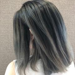 ミディアム デート 外国人風 ストリート ヘアスタイルや髪型の写真・画像