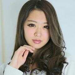 暗髪 グレージュ 渋谷系 ロング ヘアスタイルや髪型の写真・画像