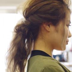 ロング ヘアアレンジ ショート 大人女子 ヘアスタイルや髪型の写真・画像