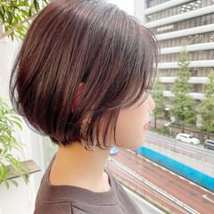 オフィス 大人かわいい デート ショートヘア ヘアスタイルや髪型の写真・画像