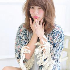 パーマ 外国人風 ハイライト ストリート ヘアスタイルや髪型の写真・画像