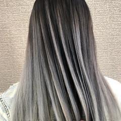 デート ロング 外国人風 外国人風カラー ヘアスタイルや髪型の写真・画像