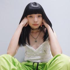 黒髪 暗髪女子 モード 暗髪 ヘアスタイルや髪型の写真・画像