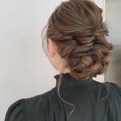 結婚式 デート 成人式 簡単ヘアアレンジ ヘアスタイルや髪型の写真・画像