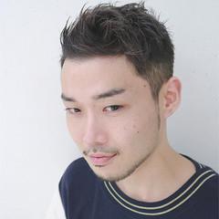 ショート 刈り上げ メンズ ストリート ヘアスタイルや髪型の写真・画像