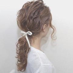 簡単ヘアアレンジ ヘアアレンジ モテ髪 愛され ヘアスタイルや髪型の写真・画像