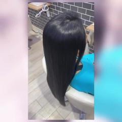 髪質改善 髪質改善トリートメント エレガント ストレート ヘアスタイルや髪型の写真・画像
