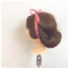 簡単ヘアアレンジ ゆるふわ 二次会 ロング ヘアスタイルや髪型の写真・画像