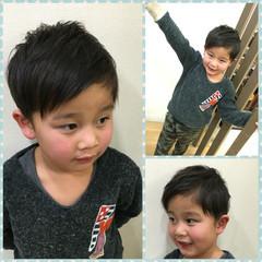 かっこいい 子供 ウェットヘア ストリート ヘアスタイルや髪型の写真・画像