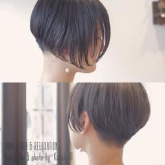 坊主 ショート 刈り上げ モード ヘアスタイルや髪型の写真・画像