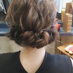 ギブソンタック リラックス デート ゆるふわ ヘアスタイルや髪型の写真・画像