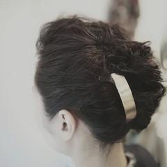 エフォートレスウェーブ ヘアセット 外国人風 フェミニン ヘアスタイルや髪型の写真・画像