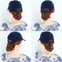 リラックス ナチュラル ヘアアレンジ 色気 ヘアスタイルや髪型の写真・画像