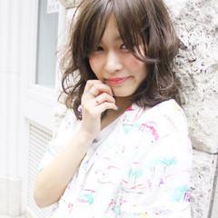 ハイライト 外国人風 大人かわいい フェミニン ヘアスタイルや髪型の写真・画像