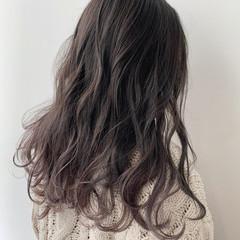 アッシュグレージュ モテ髪 グレージュ 透明感カラー ヘアスタイルや髪型の写真・画像