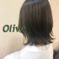ナチュラル ボブ くびれボブ 透明感カラー ヘアスタイルや髪型の写真・画像