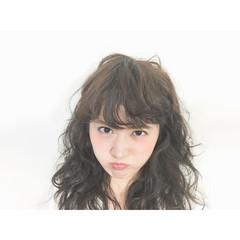 前髪あり ナチュラル 外国人風 フェミニン ヘアスタイルや髪型の写真・画像